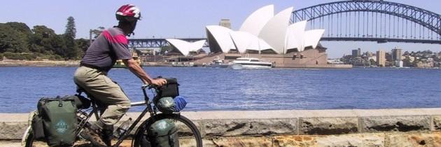 Weltreise mit dem Fahrrad – Krasser Erlanger hat Rückenwind