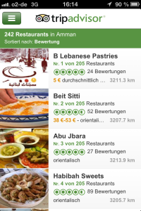 Tripadvisor Reise-App