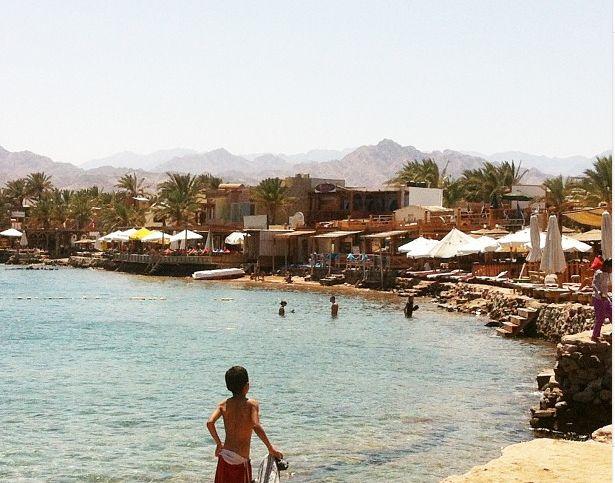 Die Bucht in Dahab