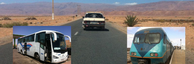 Taxi, Bus, Zug, Mietwagen – Welches ist das beste Verkehrsmittel in Marokko?