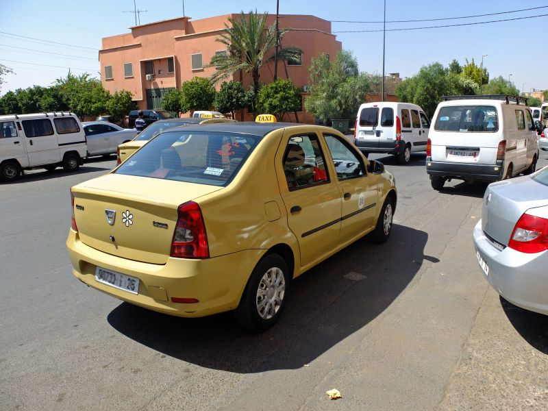 Petit taxi Marokko
