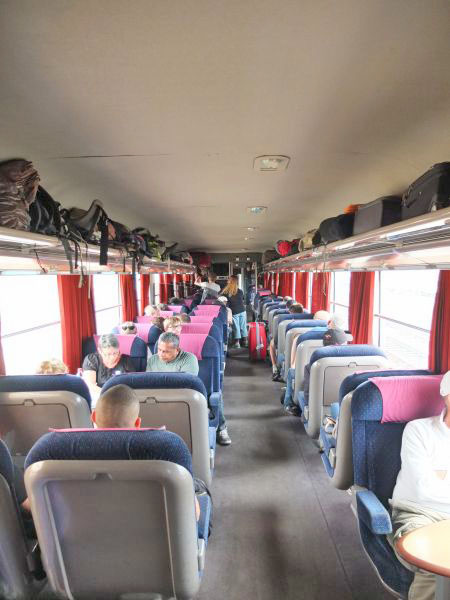 Zug 1. Klasse Marokko