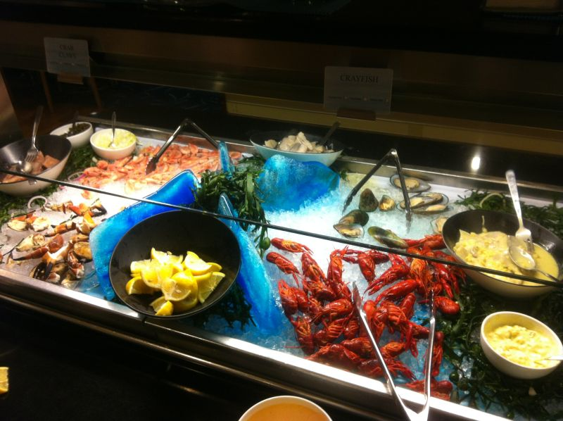 Seafood Buffet DFDS Seaways