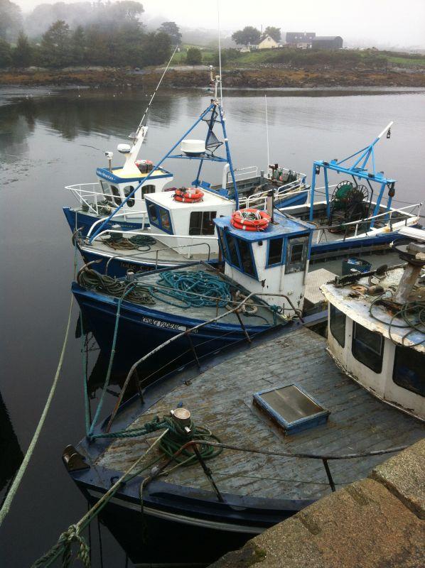Irland Fischerboote