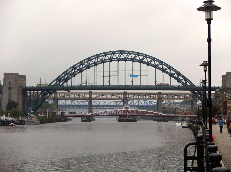 Newcastle Brücken