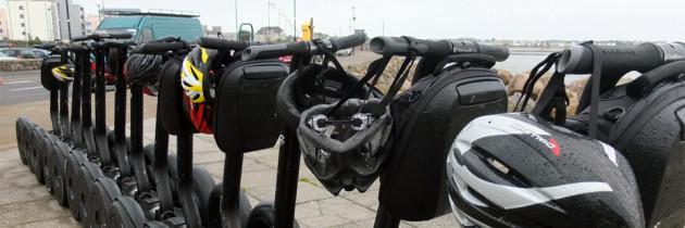 Schnappschuss: Mit dem Segway durch Galway City, Irland