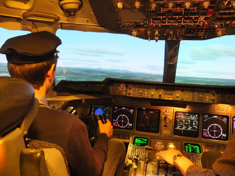 Flugsimulator MD-11 03