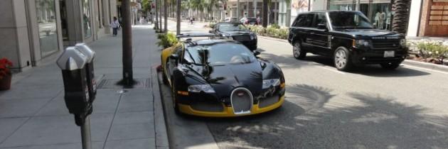 Foto der Woche – Bugatti Veyron auf dem Rodeo Drive, Kalifornien