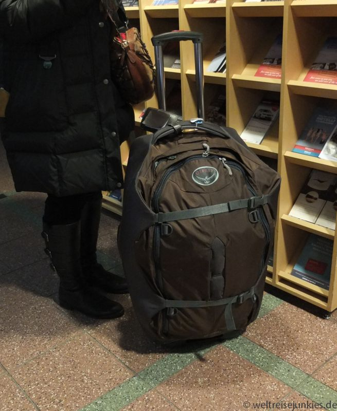 Backpacker Rucksack Rucksacktrolley