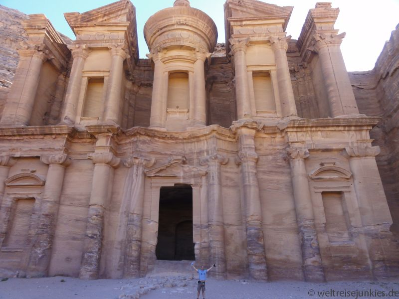 Kloster Petra Jordanien