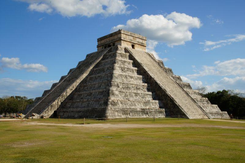 Maya Pyramide in Mexiko