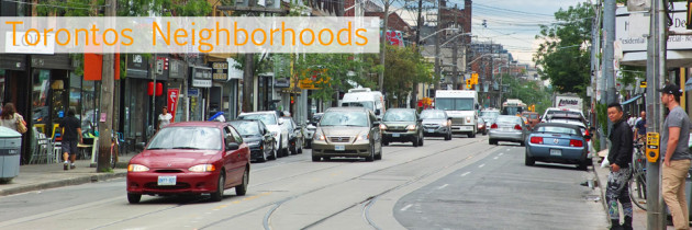 Die Neighborhoods von Toronto