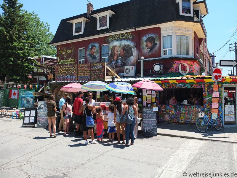 Saft-Bar in Kensington Market