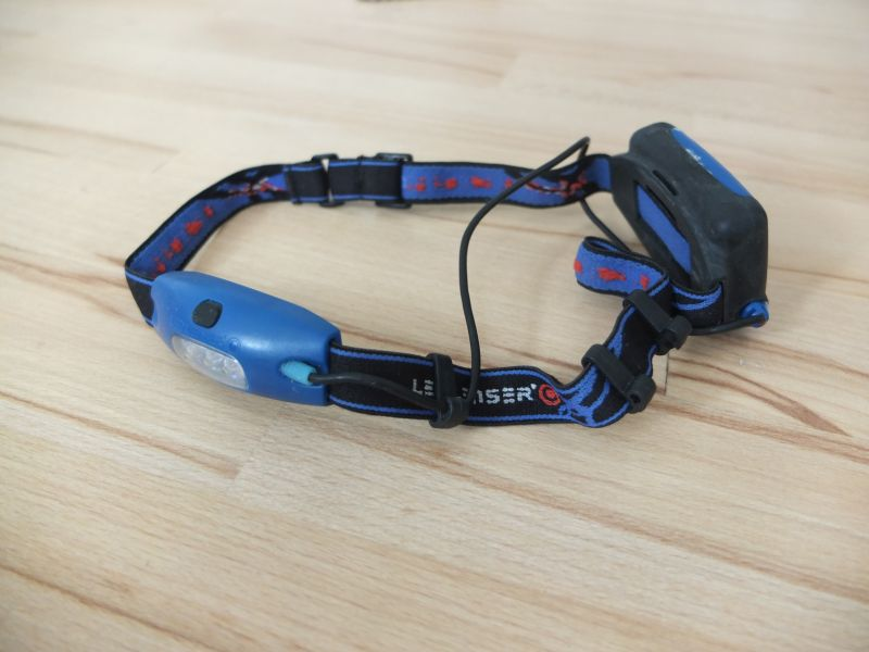 Reise-Gadgets Stirnlampe